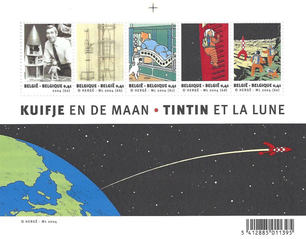 Talla En Madera Rémi - Tintin et la Lune