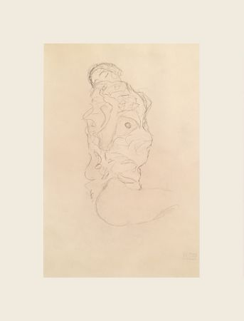 Múltiple Klimt - To Right Sitting Halfway