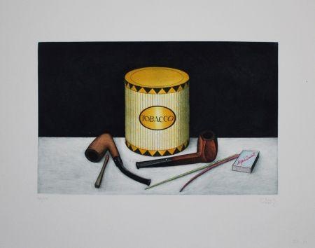 Aguafuerte Y Aguatinta Moritz - Tobacco