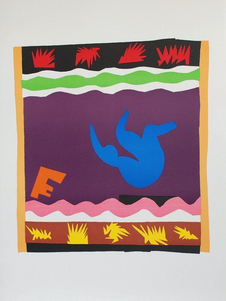 Colografía Matisse - Toboggan
