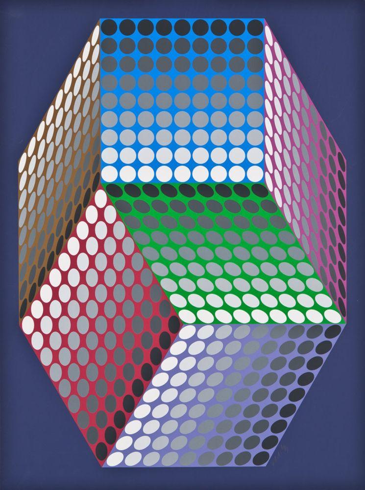 Serigrafía Vasarely - TOGONNE
