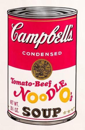 Serigrafía Warhol - Tomato-Beef Noodle O's (FS II.61)
