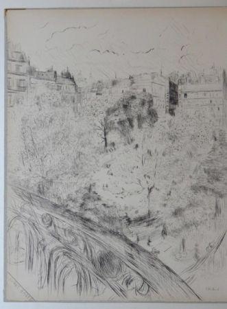 Aguafuerte Y Aguatinta Vuillard  - Tombeau de Edouard Vuillard