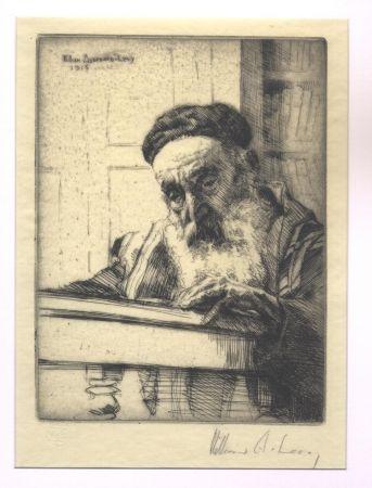 Grabado Levy - Torah / The Law