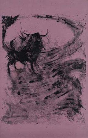 Litografía Barcelo - Toros