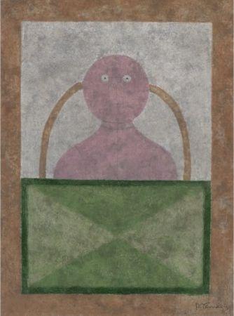 Aguafuerte Y Aguatinta Tamayo - Torso en Rosa