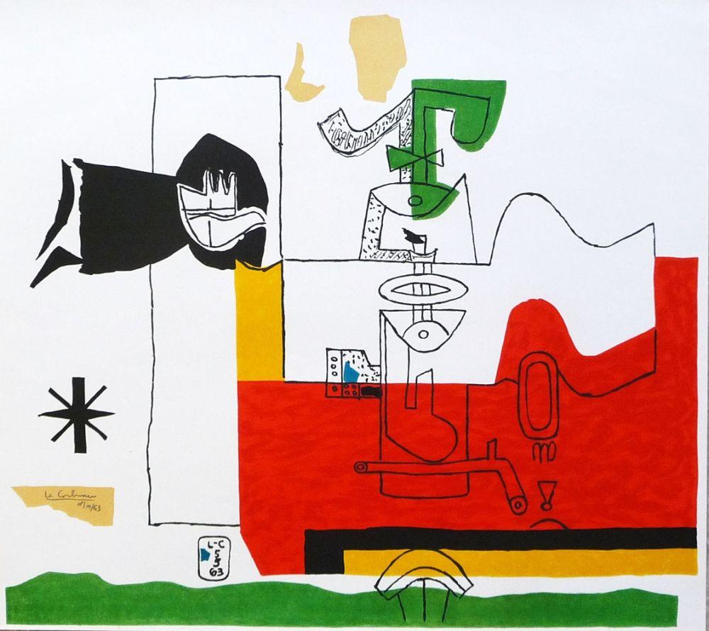 Litografía Le Corbusier - Totem