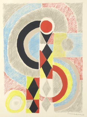 Litografía Delaunay - Totem