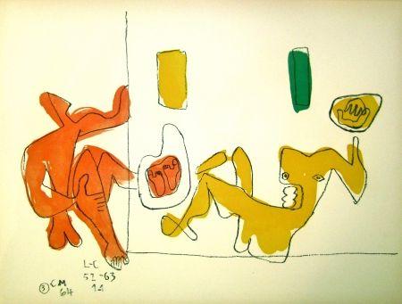 Litografía Le Corbusier - Touching their Feet