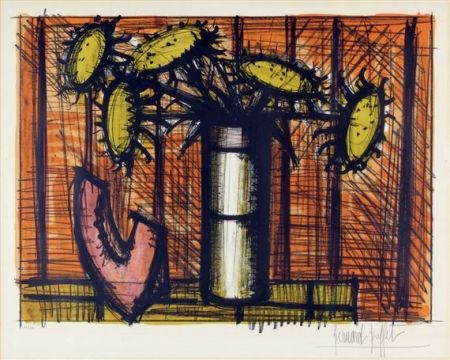 Litografía Buffet - Tournesol et melon