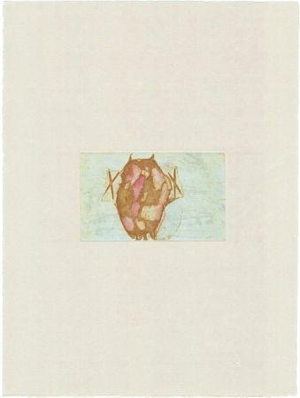 Grabado Beuys - Tränen: Schamanentrommel (grün)