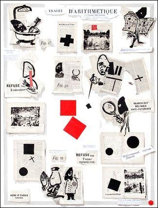 Litografía Kentridge - Traité d'arithmétique