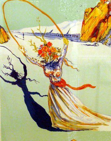 Litografía Dali - Trascendent Passage