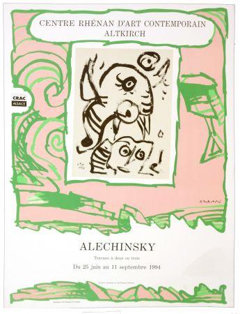 Cartel Alechinsky - Travaux a deux ou trois