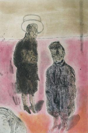 Aguafuerte Y Aguatinta Cuevas - Travestistas