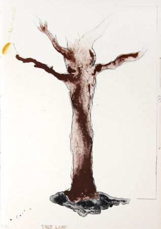 Litografía Dine - Tree Lamp