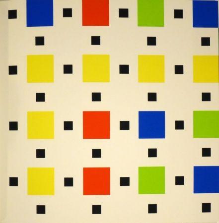 Serigrafía Nemours - Trente-huit peintures à la gouache ou au vinyle
