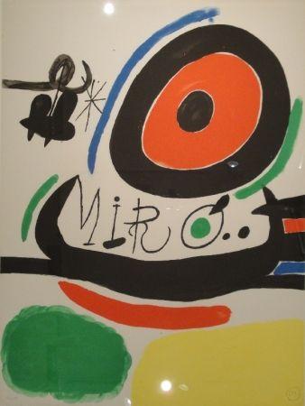 Litografía Miró - Tres libres