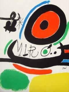 Litografía Miró - Tres Llibres