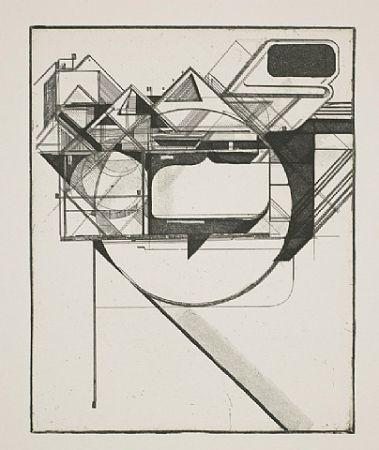 Aguafuerte Y Aguatinta Kofie - Triangulation 1