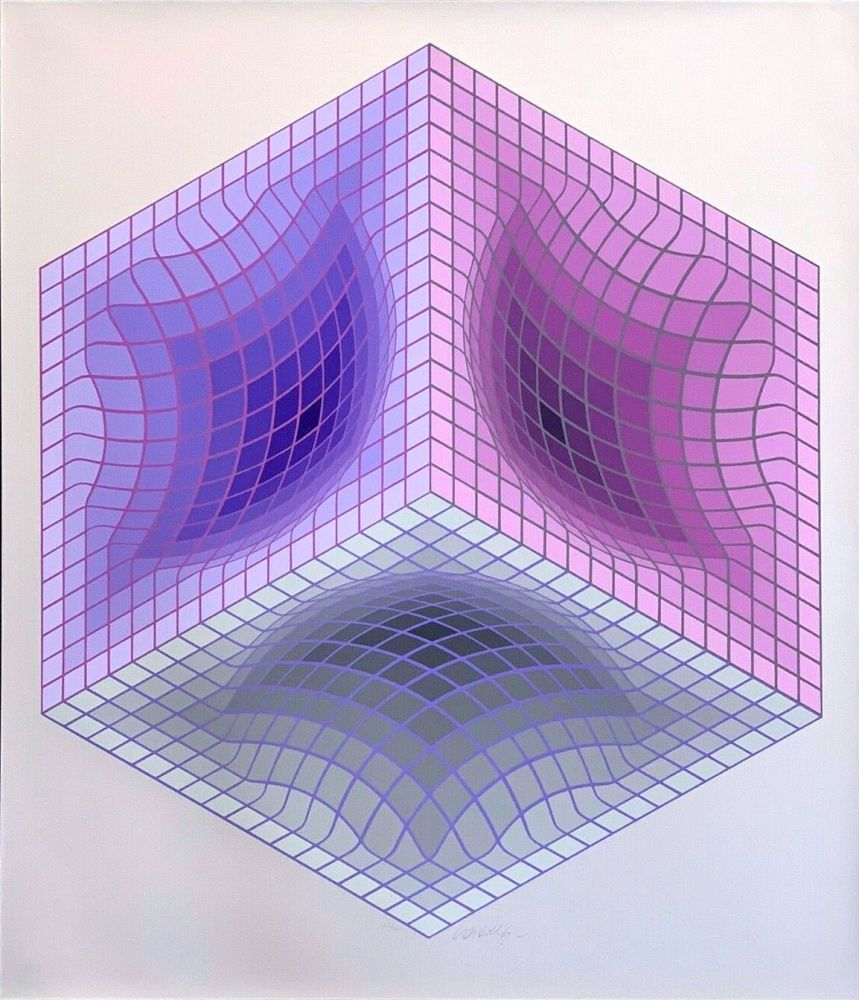 Múltiple Vasarely - Tridos S