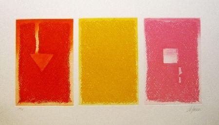 Aguafuerte Y Aguatinta De Juan - Triptica en color II