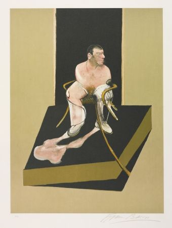 Aguafuerte Y Aguatinta Bacon - Triptych 1986-1987: Study For A Portrait Of John Edwards (S. 6)
