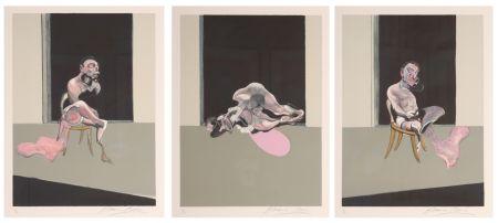 Litografía Bacon - Triptych August 1972
