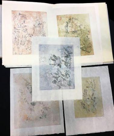 Libro Ilustrado Bryen - Tristan Tzara. VIGIES. 5 eaux-fortes originales (1962).