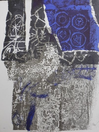 Litografía Clavé - Trobador 2