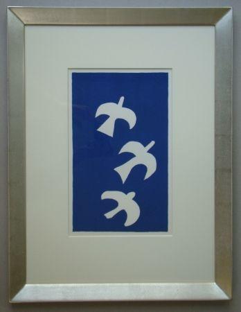 Litografía Braque - Trois Oiseaux