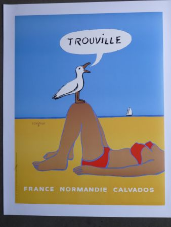 Cartel Savignac - Trouville