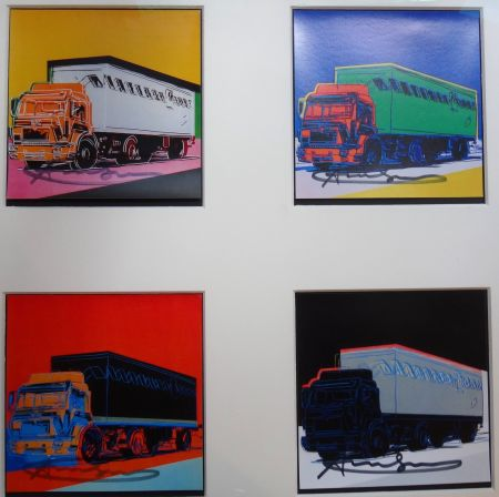 Litografía Warhol - Trucks Announcement