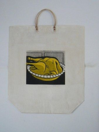 Serigrafía Lichtenstein - Turkey Shopping Bag