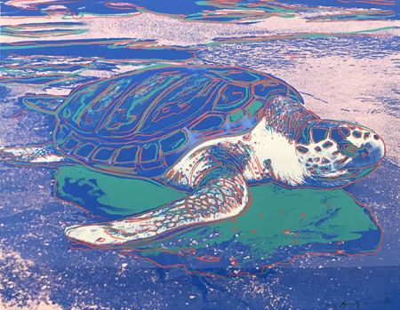 Serigrafía Warhol - TURTLE FS II.360A