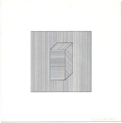 Serigrafía Lewitt - Twelve Forms Derived from a Cube (Set of 48) (1)
