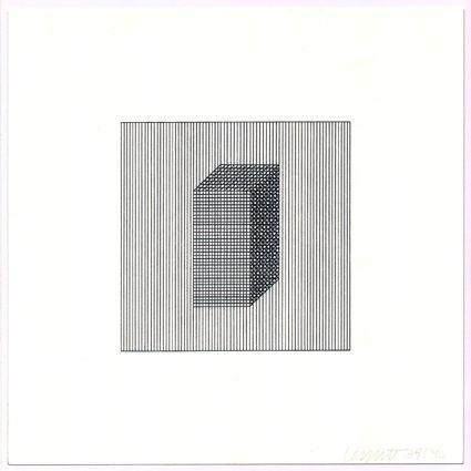 Serigrafía Lewitt - Twelve Forms Derived from a Cube (Set of 48) (3)