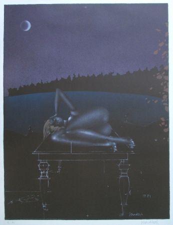 Litografía Wunderlich - Twilight 7