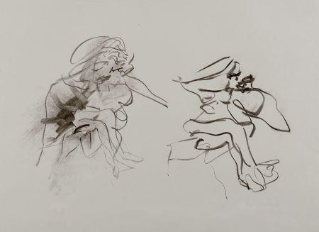 Litografía De Kooning - Two Figures