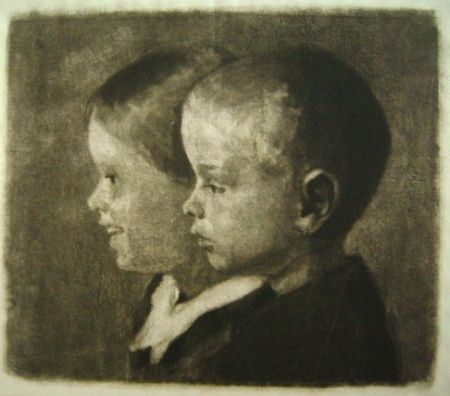 Manera Negra Ilsted - Two Of The Children Of The Artist