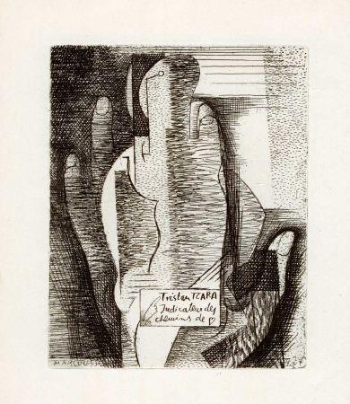Libro Ilustrado Marcoussis - TZARA (Tristan). Indicateur des chemins de coeur.