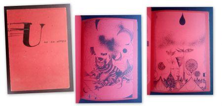 Libro Ilustrado Tàpies - U no es Ningú - Brossa -Tàpies
