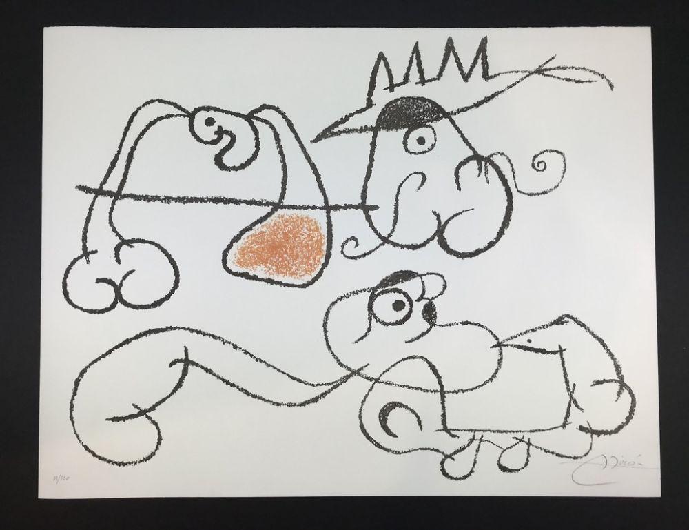 Litografía Miró - Ubu aux Balèares