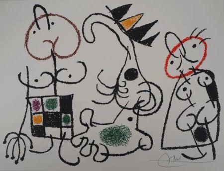 Litografía Miró - Ubu aux Baléares - Planche 18