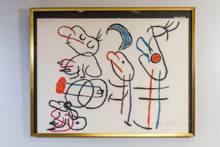 Litografía Miró - Ubu Aux Baleares