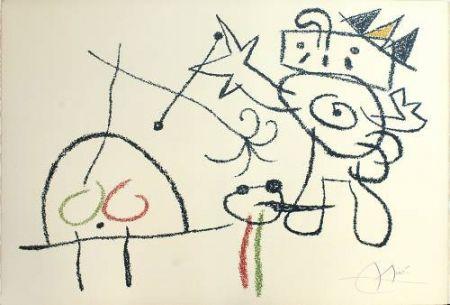 Litografía Miró - Ubu aux Baleares, 17
