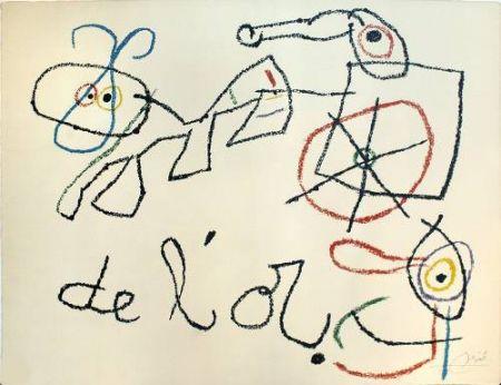 Litografía Miró - Ubu aux Baleares, 4