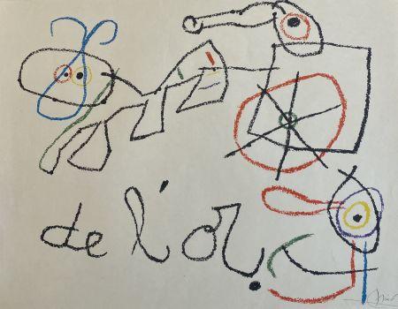 Litografía Miró - Ubu aux Baleares I