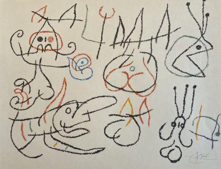 Litografía Miró - Ubu aux Baleares III