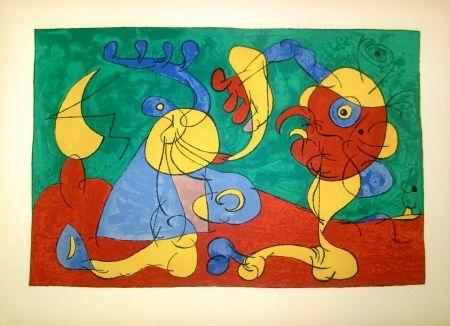 Litografía Miró - Ubu Roi